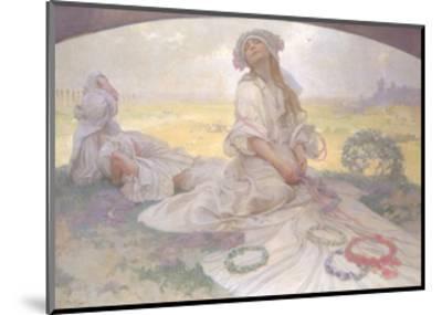 Song of Bohemia, c.1930-Alphonse Mucha-Mounted Giclee Print