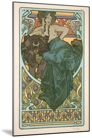 Plate 47 from 'Documents Decoratifs', 1902-Alphonse Mucha-Mounted Premium Giclee Print