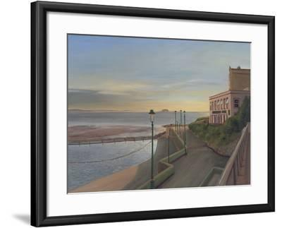 The Claremont Free House and Wine Vaults, Last Light, Weston-Super-Mare, 2007-Peter Breeden-Framed Giclee Print