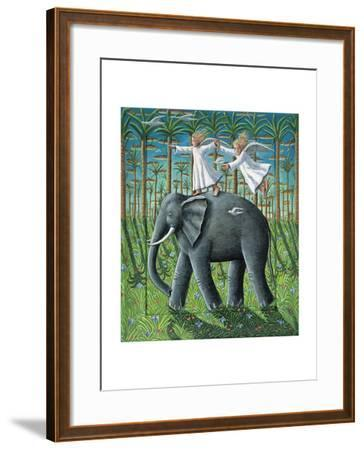 Learning to Fly, 2010-P.J. Crook-Framed Giclee Print