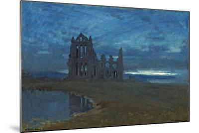 Whitby Abbey, 1900-Albert Goodwin-Mounted Giclee Print