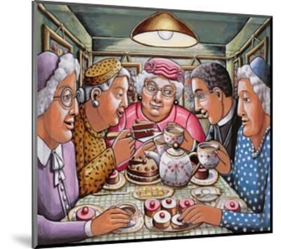 The Curate Taking Tea with the Ladies, 2009-P.J. Crook-Mounted Giclee Print