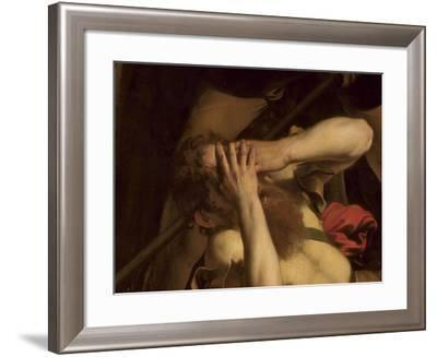 The Conversion of St. Paul (Detail)-Caravaggio-Framed Giclee Print