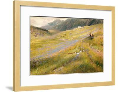 The Alpine Summer, 1874-Albert Goodwin-Framed Giclee Print