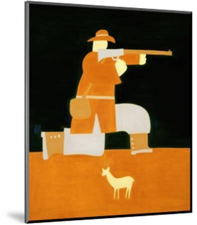 The Hunter-Cristina Rodriguez-Mounted Giclee Print