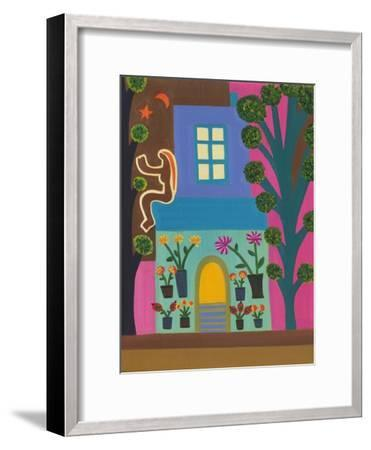 The Florist on Portobello Road, 2011-Cristina Rodriguez-Framed Giclee Print