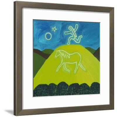 The White Horse in Somerset, 2011-Cristina Rodriguez-Framed Giclee Print