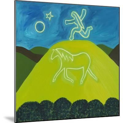 The White Horse in Somerset, 2011-Cristina Rodriguez-Mounted Giclee Print