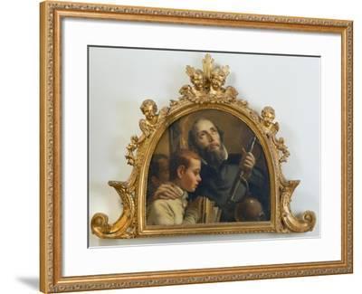 Saint Jerome, c.1760-Giandomenico Tiepolo-Framed Giclee Print