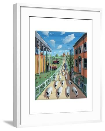 The Flock, 2009-P.J. Crook-Framed Giclee Print