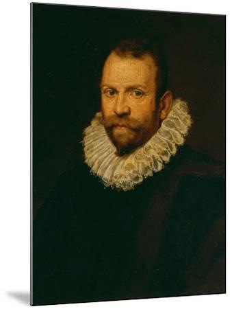 Portrait of a Man-Jacopo Bassano-Mounted Giclee Print