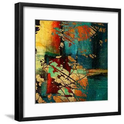 Art Grunge Vintage Texture Background. To See Similar, Please Visit My Portfolio-Irina QQQ-Framed Premium Giclee Print
