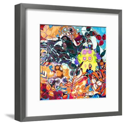 Art Abstract Colorful Background. To See Similar, Please Visit My Portfolio-Irina QQQ-Framed Art Print