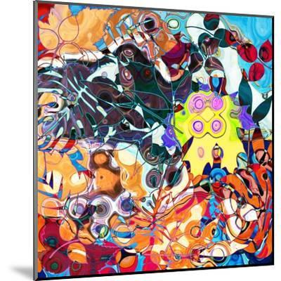 Art Abstract Colorful Background. To See Similar, Please Visit My Portfolio-Irina QQQ-Mounted Art Print