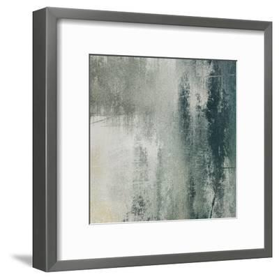 Art Paper Texture For Background In Black And White Colors-Irina QQQ-Framed Art Print