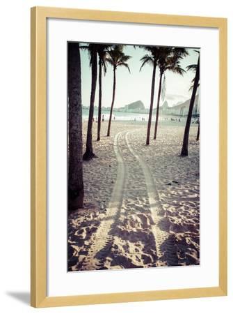 View Of Ipanema Beach In The Evening, Brazil-Mariusz Prusaczyk-Framed Art Print