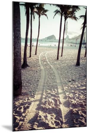 View Of Ipanema Beach In The Evening, Brazil-Mariusz Prusaczyk-Mounted Art Print