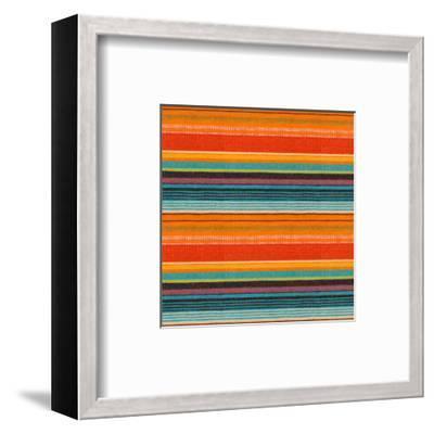 Textile Detail Background. Seamless Texture-Ultrapro-Framed Art Print
