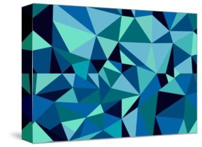 Abstract Geometric Pattern-cienpies-Stretched Canvas Print