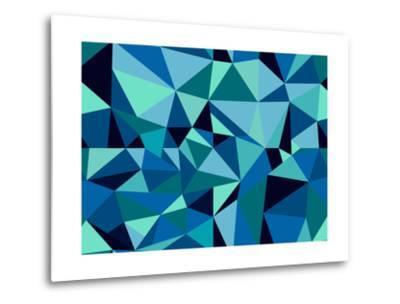 Abstract Geometric Pattern-cienpies-Metal Print