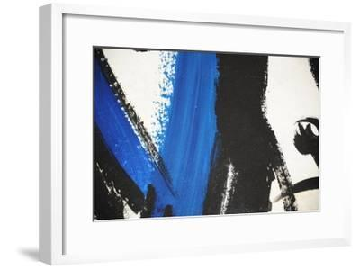 Hand-Painted Oil On Canvas Abstract- RaisingImage-Framed Art Print