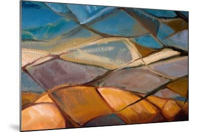 Abstract Oil Painting- Indric-Mounted Art Print