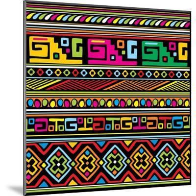 African Pattern Color- valeriya-Mounted Art Print