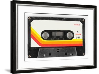 An Old Audio Cassette-dubassy-Framed Art Print