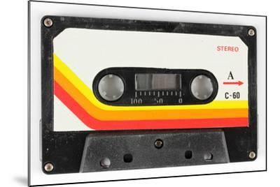 An Old Audio Cassette-dubassy-Mounted Art Print