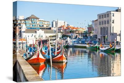 Aveiro, Portugal View-topdeq-Stretched Canvas Print