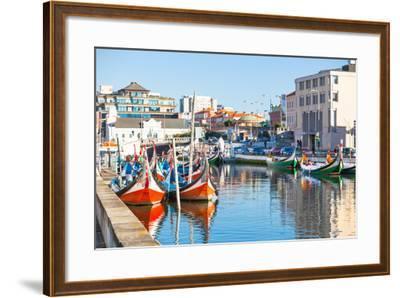 Aveiro, Portugal View-topdeq-Framed Art Print