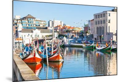 Aveiro, Portugal View-topdeq-Mounted Art Print