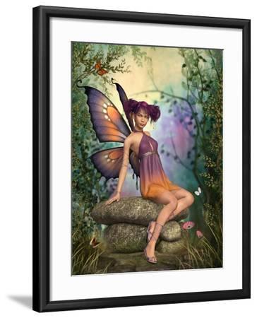 In The Fairytale Forest-Atelier Sommerland-Framed Art Print
