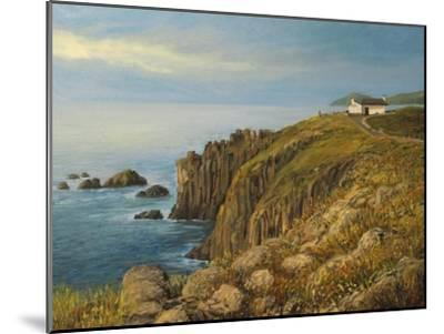 Land'S End In Cornwall-kirilstanchev-Mounted Art Print