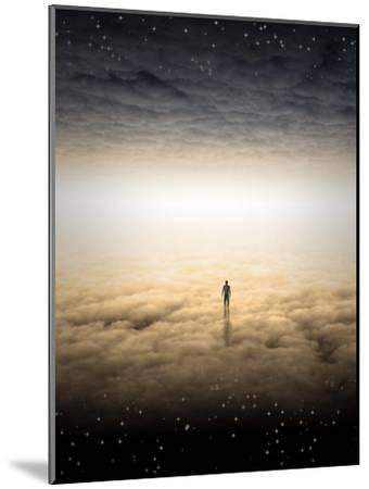 Mans Journey Of The Soul-rolffimages-Mounted Art Print