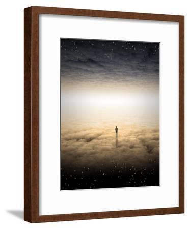 Mans Journey Of The Soul-rolffimages-Framed Art Print