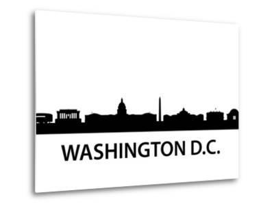Skyline Washington D.C-unkreatives-Metal Print