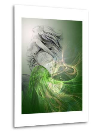 Painting Of A Mermaid-outsiderzone-Metal Print