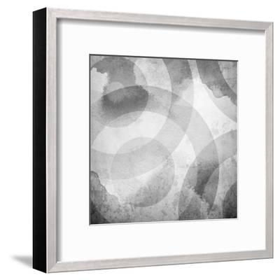 Old Background With Circle Pattern-Eky Studio-Framed Art Print