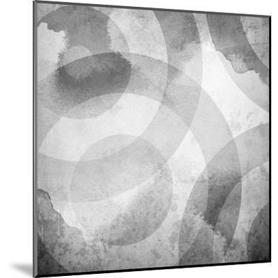 Old Background With Circle Pattern-Eky Studio-Mounted Art Print