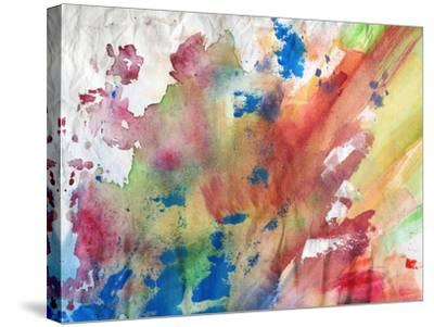 Abstract Painting Background-run4it-Stretched Canvas Print
