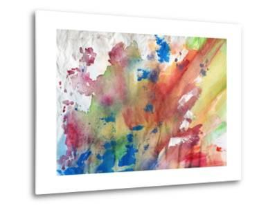 Abstract Painting Background-run4it-Metal Print