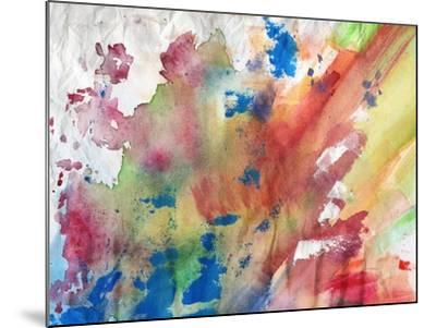 Abstract Painting Background-run4it-Mounted Art Print