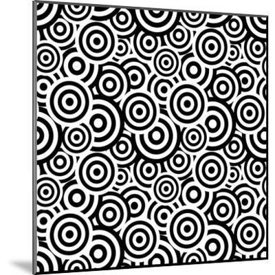 Seamless Retro Pattern- ihor_seamless-Mounted Art Print