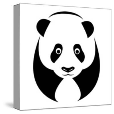 A Panda-yod67-Stretched Canvas Print