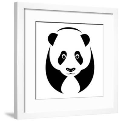 A Panda-yod67-Framed Art Print