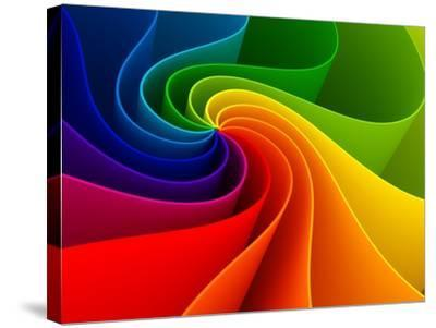 3D Colorful Background-Sashkin-Stretched Canvas Print