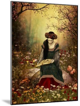 A Woman Reading A Book-Atelier Sommerland-Mounted Premium Giclee Print