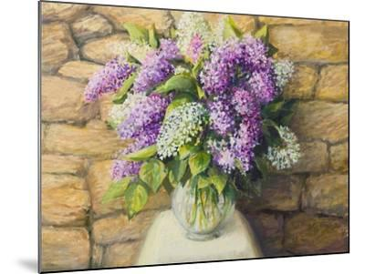 Still Life With Lilacs-kirilstanchev-Mounted Art Print