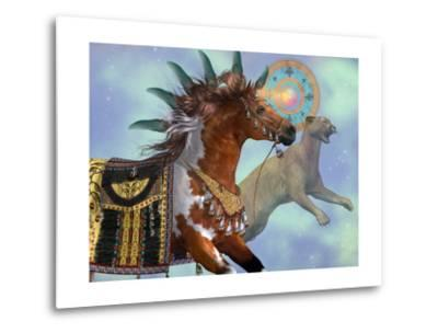 Year Of The Cougar Horse-Corey Ford-Metal Print